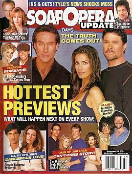 Soap Opera Update November 20, 2001