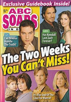 ABC Soaps In Depth November 20, 2007
