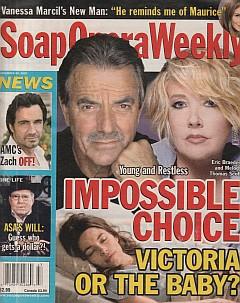 Soap Opera Weekly November 20, 2007