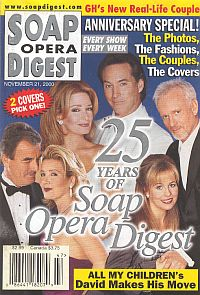 Soap Opera Digest - November 21, 2000