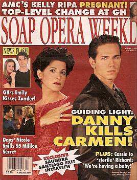 Soap Opera Weekly November 21, 2000