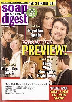 Soap Opera Digest Nov. 21, 2006