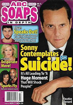November 21, 2016 issue of ABC Soaps In Depth magazine