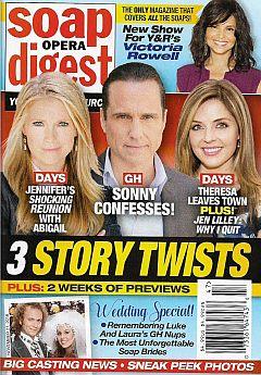 November 21, 2016 issue of Soap Opera Digest magazine