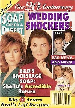 Soap Opera Digest - November 21, 1995