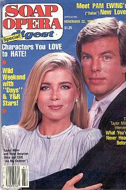 November 22, 1983 Soap Opera Digest