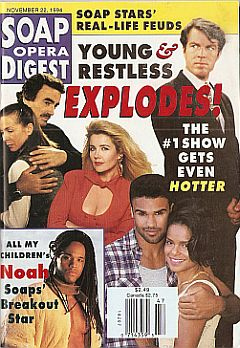 Soap Opera Digest - November 22, 1994