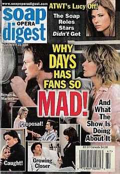 Soap Opera Digest Nov. 23, 2004