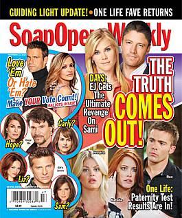 November 23, 2010 issue of Soap Opera Weekly magazine
