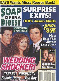 Soap Opera Digest - November 23, 1999