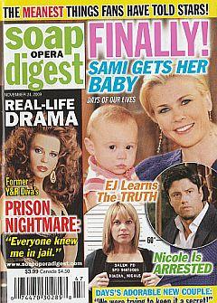 Soap Opera Digest November 24, 2009