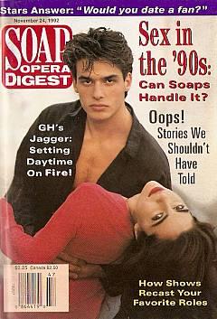Soap Opera Digest November 24, 1992