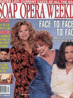 Soap Opera Weekly November 24, 1992