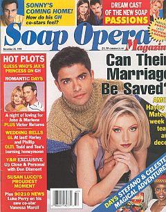 Soap Opera Magazine November 24, 1998