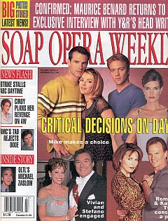 Soap Opera Weekly November 24, 1998