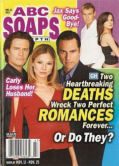 ABC Soaps In Depth November 25, 2003