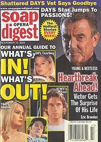Soap Opera Digest Nov. 25, 2003
