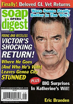 Soap Opera Digest November 25, 2008