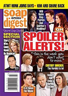 Soap Opera Digest Nov. 25, 2013