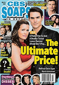 CBS Soaps In Depth November 25, 2019