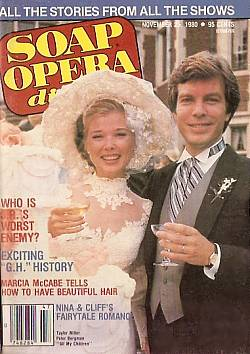 November 25, 1980 issue of Soap Opera Digest