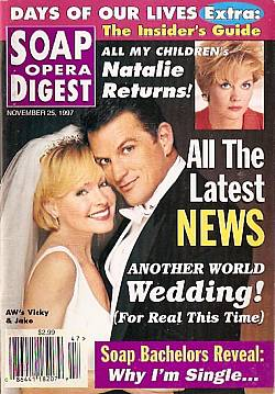 Soap Opera Digest - November 25, 1997