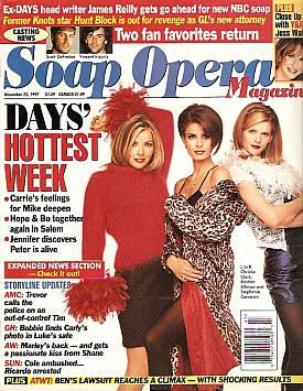 Soap Opera Magazine November 25, 1997