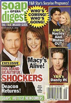 Soap Opera Digest Nov. 26, 2002
