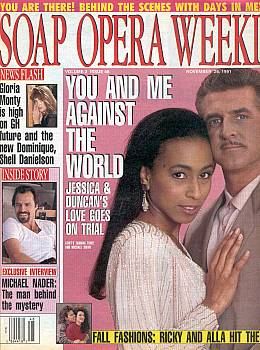 Soap Opera Weekly November 26, 1991