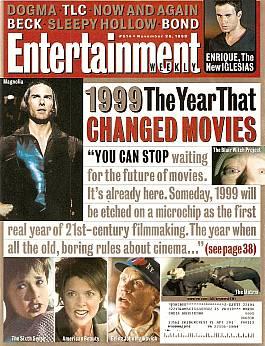 Entertainment Weekly November 26, 1999