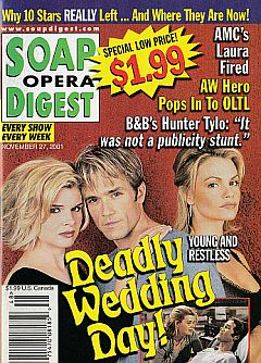 Soap Opera Digest Nov. 27, 2001