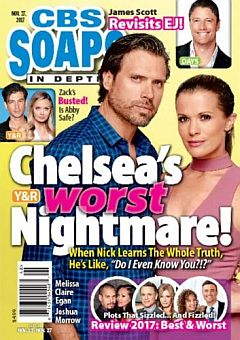 CBS Soaps In Depth Nov. 27, 2017