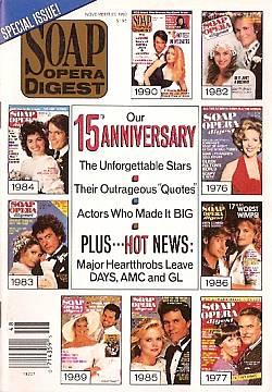 Soap Opera Digest November 27, 1990