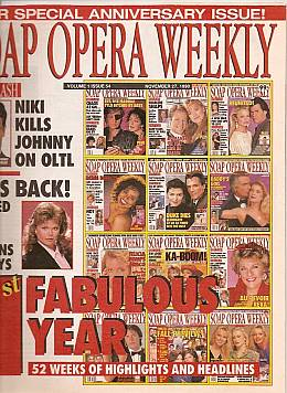 Soap Opera Weekly - November 27, 1990