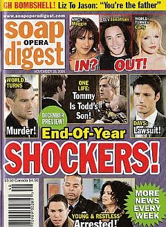 Soap Opera Digest Nov. 28, 2006