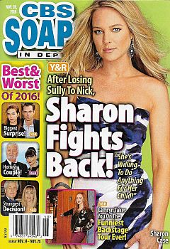 November 28, 2016 issue of CBS Soaps In Depth magazine