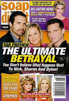 November 28, 2016 issue of Soap Opera Digest magazine