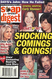 Soap Opera Digest Nov. 30, 2004