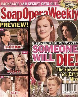 Soap Opera Weekly November 30, 2004