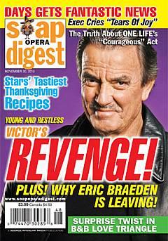 Soap Opera Digest November 30, 2010