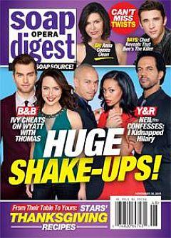 Soap Opera Digest Nov. 30, 2015