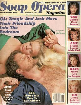 Soap Opera Magazine Nov. 30, 1993