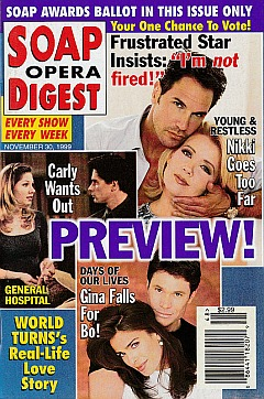 Soap Opera Digest - November 30, 1999