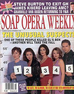 Soap Opera Weekly November 30, 1999