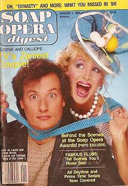 January 1, 1985 Soap Opera Digest