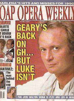 Soap Opera Weekly January 1, 1991