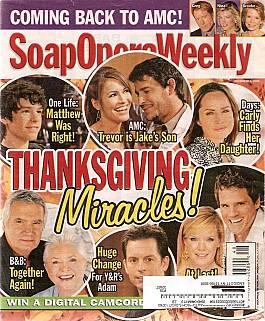 Soap Opera Weekly Dec. 1, 2009