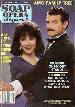 Soap Opera Digest December 1, 1987
