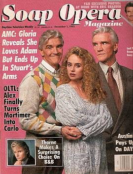 Soap Opera Magazine Dec. 1, 1992