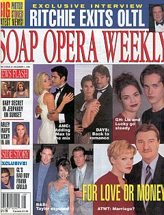 Soap Opera Weekly December 1, 1998